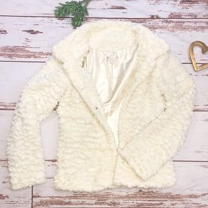 Body Central Ivory jacket small